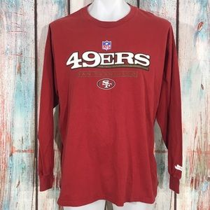 Other - NFL San Francisco 49ers Long Sleeve T-Shirt Size L